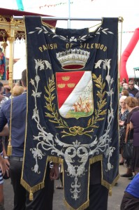 Feast of the Three Saints - Parish Banner
