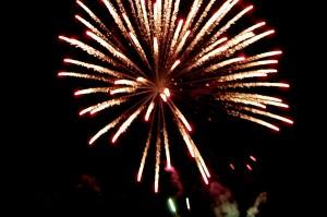 Silkwood Feast of the Three Saints fireworks