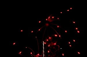 Silkwood Feast of the Three Saints fireworks