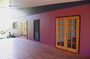 Bedrooms exterior